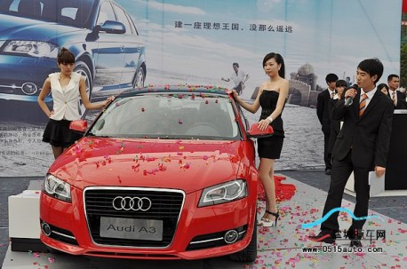 Audi sales in China up 30% in 2012