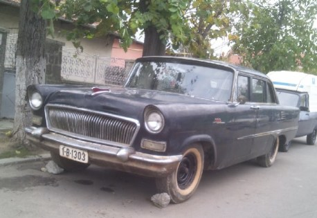 Extremely rare Hongqi CA72 pops up in Romania