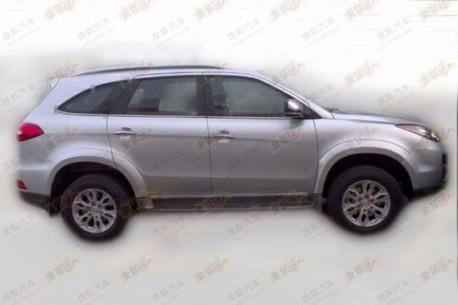 Spy Shots: facelifted Jiangling Yusheng SUV is Naked in China