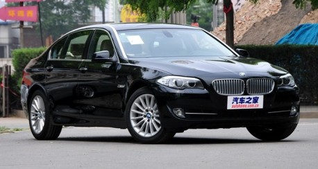 Spy Shots: facelifted BMW 5-Series pops up in China