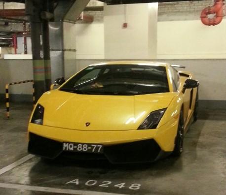 Spotted in Macau: Lamborghini Gallardo Superleggera