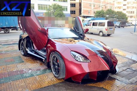 The Most Extreme Mercedes-Benz SLK in the World lives in China