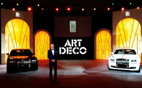 Limited Edition Rolls-Royce Ghost Art Deco launched in China