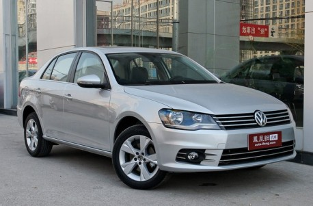 Spy Shots: Volkswagen Bora goes Sporty in China