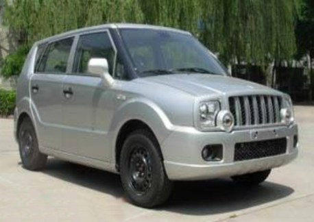 Spy Shots: Zhongxing Urban Ark is Ready for the China car market