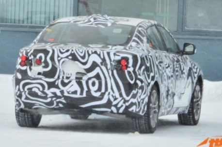 Spy Shots: Beijing Auto C50E testing in the Snow in China