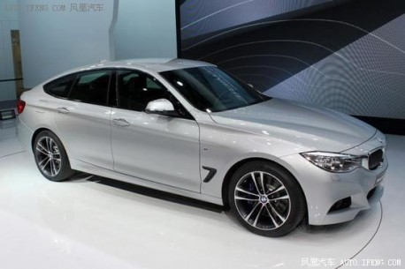 Spy Shots: BMW 3 Series GT testing in China