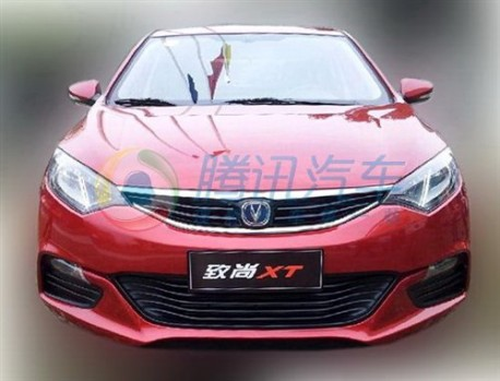 Chang'an Eado XT is Naked in China