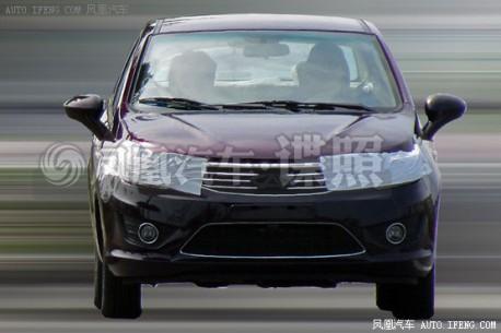 Spy Shots: new Chery E2 sedan seen testing in China
