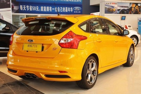 Ford Focus ST hits the Chinese auto market