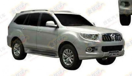 Patent Applied: Foton U201 SUV gets ready for the Chinese car market