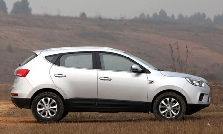 JAC Eagle S5 SUV will be launched on the China car market on March 19