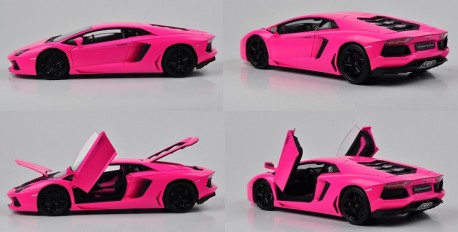 Chinese Toy Car Makers are Going for Bling & Pink
