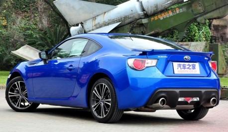 Subaru BRZ hits the China car market