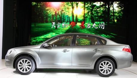 Brilliance H330 arrives at the Shanghai Auto Show