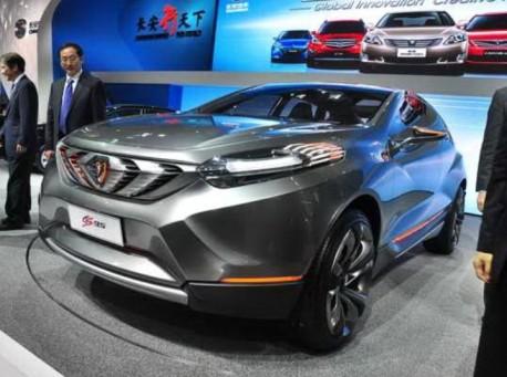 Chang'an CS95 concept debuts at the Shanghai Auto Show
