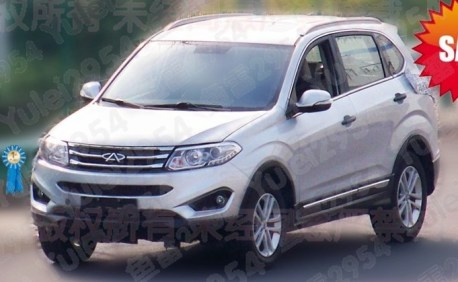 Spy Shots: Chery Tiggo 5 is Naked in China