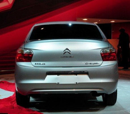 New Citroen C-Elysee arrives at the Shanghai Auto Show