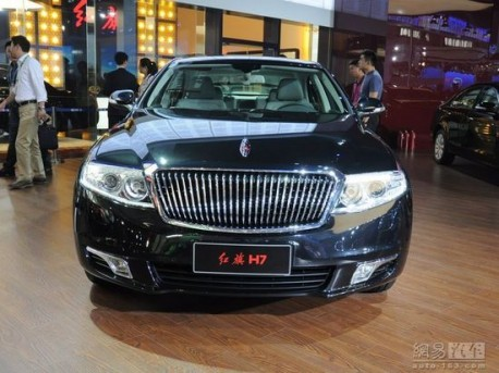 FAW says it sold 500 (five hundred) Hongqi H7 sedans to the Government