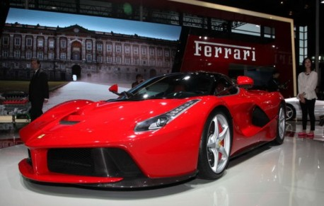 Ferrari LaFerrari hits the Shanghai Auto Show
