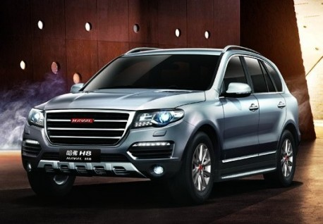 First official Picures of the Haval H6 & Haval H8 for the Shanghai Auto Show