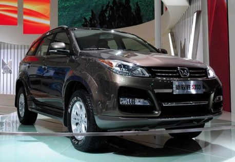 Facelifted Jianling Yusheng hits the Shanghai Auto Show