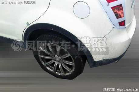 Spy Shots: MG SUV seen testing in China