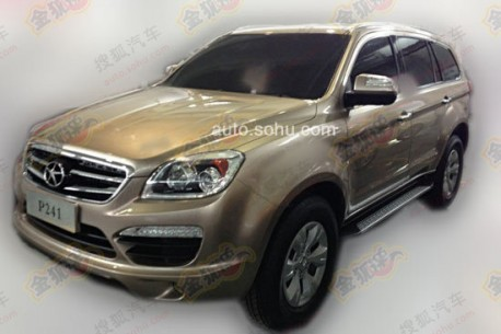 Spy Shots: JAC P241 does the Mercedes-Benz GL-Class in China
