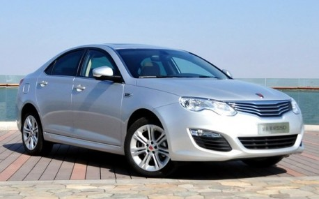 Facelifted Roewe 550 will hit the China car market on May 4