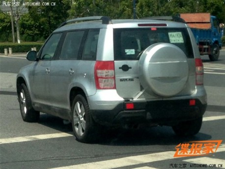 Spy Shots: extended Skoda Yeti testing in China