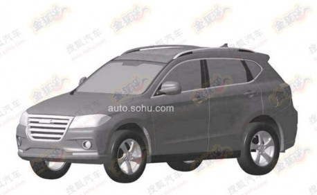 Patent Applied: production version of the Haval H2 SUV