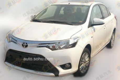 Spy Shots: new Toyota Vios testing in China