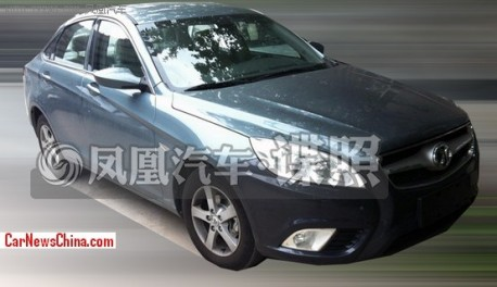 Spy Shots: Beijing Auto C50E is almost Naked in China