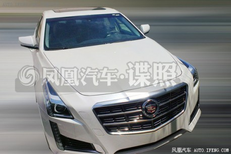 Spy Shots: 2014 Cadillac CTS testing in China