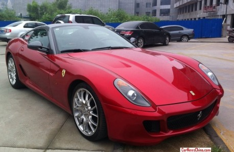 Spotted in China: Ferrari 599 GTB Fiorano HGTE China Limited Edition