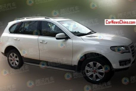Spy Shots: Haval H8 is doing the final tests in China