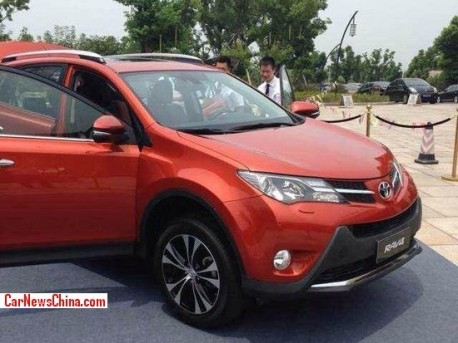 New Toyota RAV4 will hit the China car market on August 26