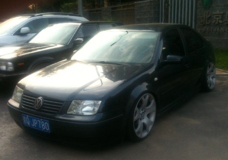 Volkswagen Bora is a BMW'd low rider in China