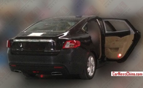 Spy Shots: Geely Emgrand EC9 seen testing in China again