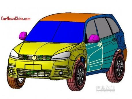 Patent Applied: Hengtian Auto Huanteng H1 mini-SUV