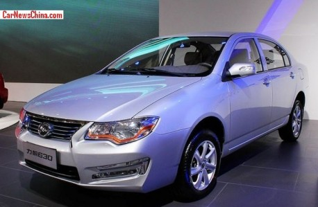 Lifan 630 will hit the China car market late this year