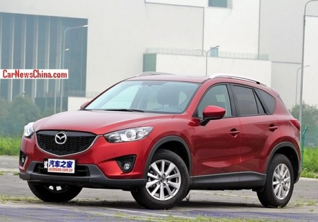 China-made Mazda CX-5 hits the Chinese car market