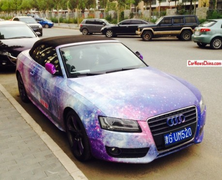 Audi A5 Cabriolet is the Galaxy in China