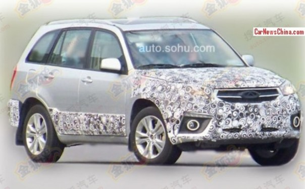 Spy Shots: facelift for the Chery Tiggo 3 in China