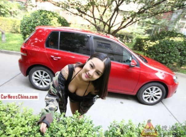 china-girl-volkswagen-golf-9a