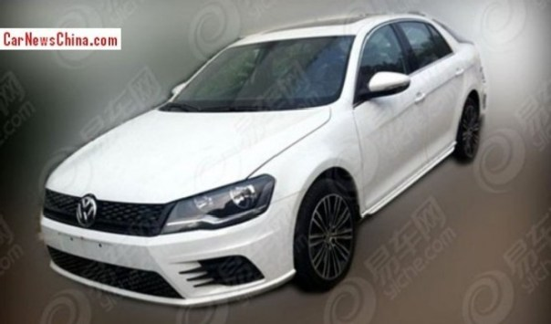 Spy Shots: Volkswagen Bora GLI testing in China