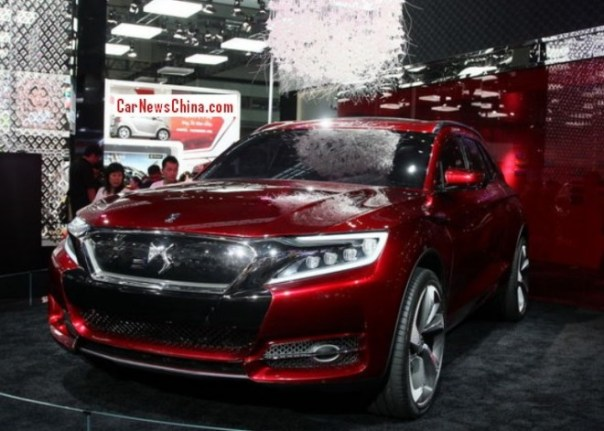 Production of the Citroen DS X7 SUV will start in China in late 2014