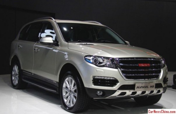 Haval H8 debuts on the 2013 Guangzhou Auto Show in China