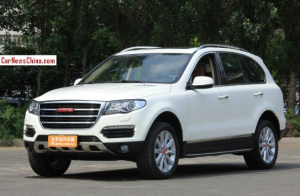 Haval H8 SUV is Ready for the China car market