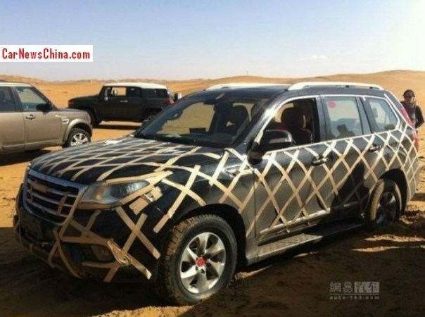 Spy shots: Haval H9 SUV is fighting the mud in China